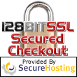 Secured Checkout with strongest SSL encryption from Secure Hosting